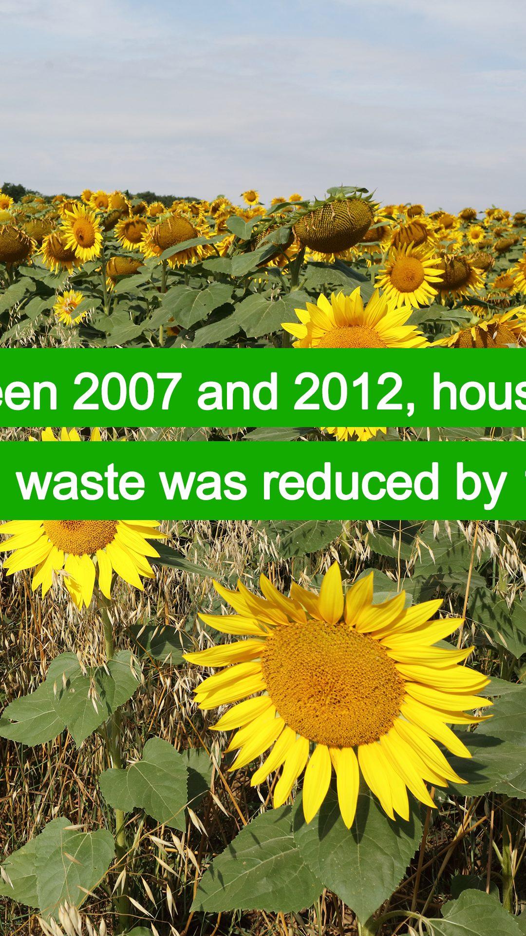 Food waste is decreasing!