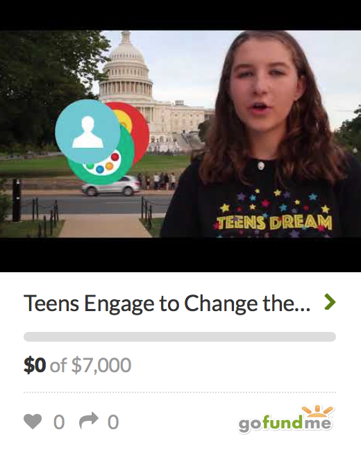Teens Dream Colab Go Fund Me Campaign