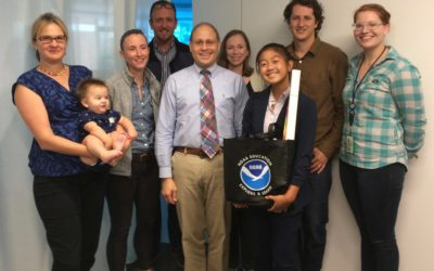 Grand Prize Winner meets with NOAA to discuss SDG 14: Life Under Water